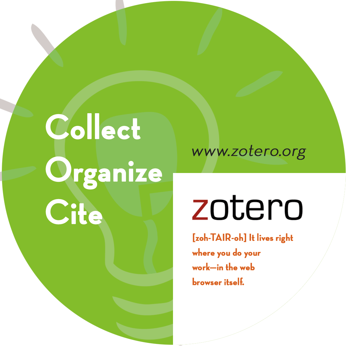 Academic tools for improving papers: Zotero
