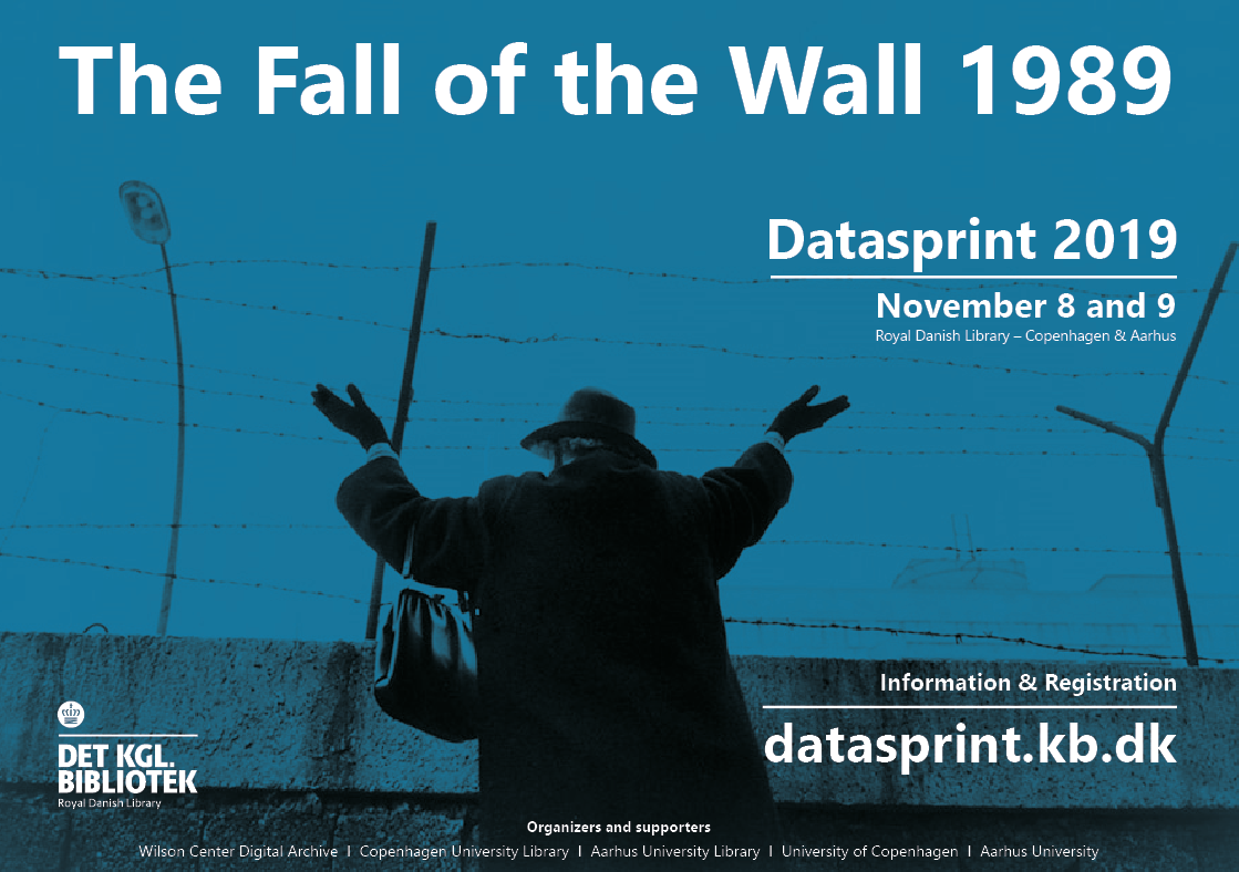 The Fall of the Wall 1989 - Datasprint 2019 (Day 2)
