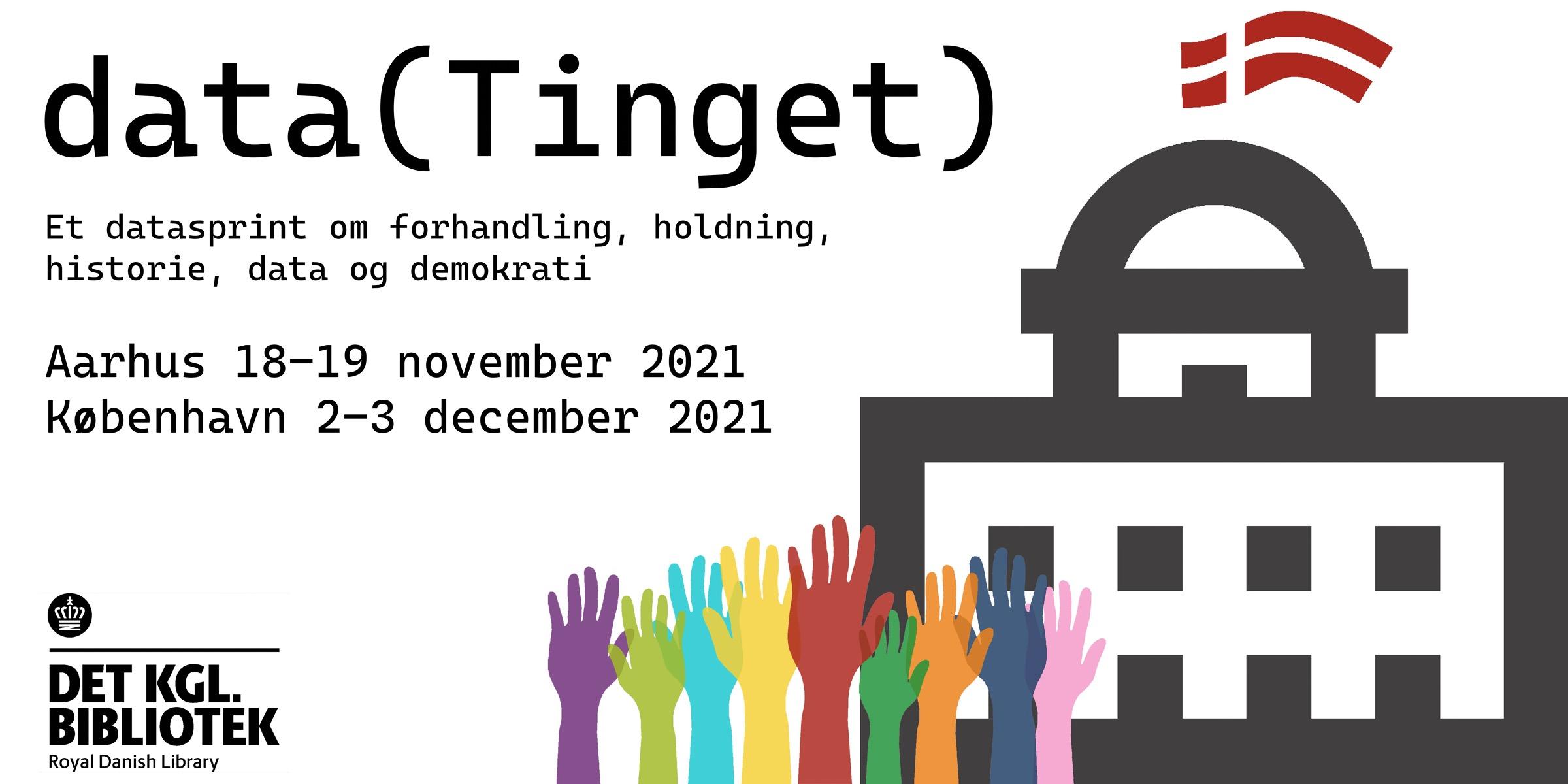 Datasprint: data(Tinget) - demokrati og politiske forhandlinger i Folketinget