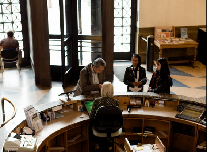Cambridge University Library Click and Collect