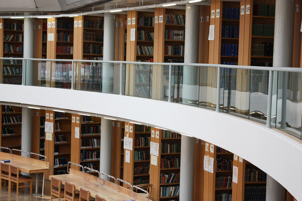 Click and collect at the Seeley Library