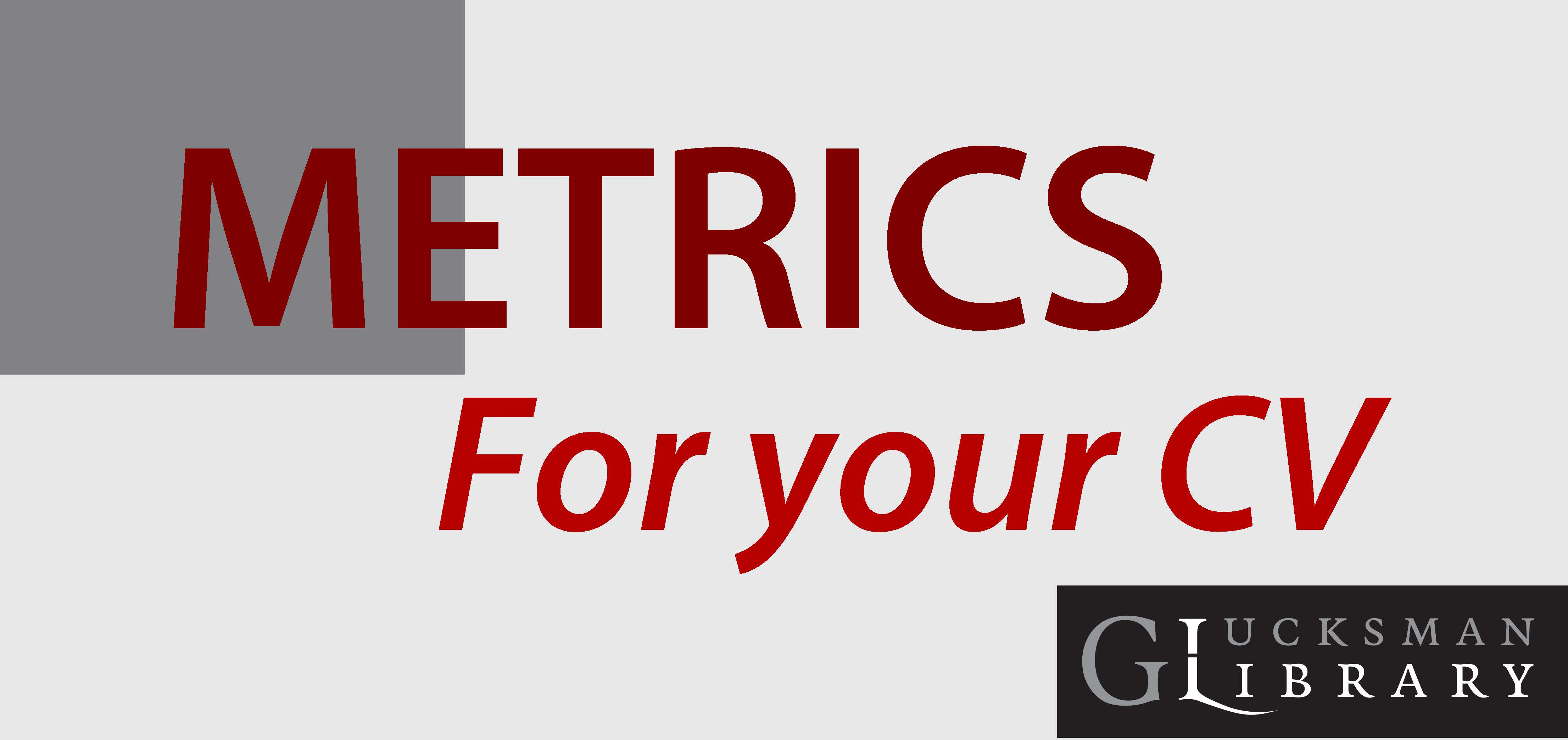 Metrics for your CV or Promotion Portfolio