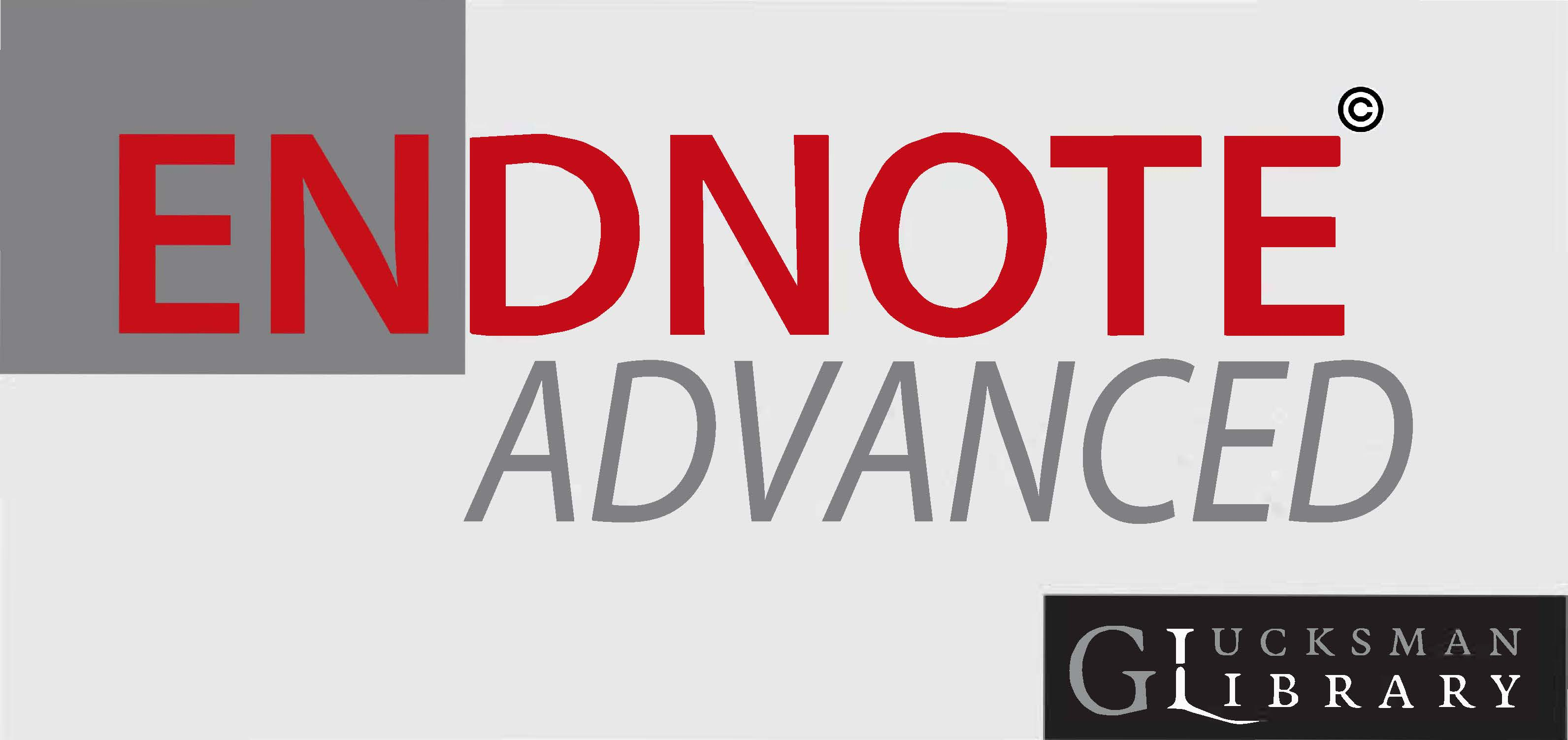 EndNote Desktop Advanced