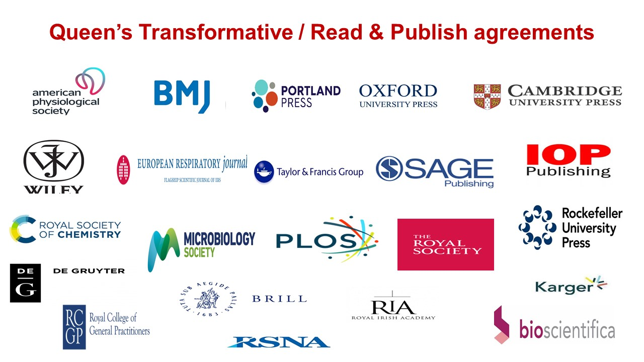Gold Open Access & Transformative Agreements