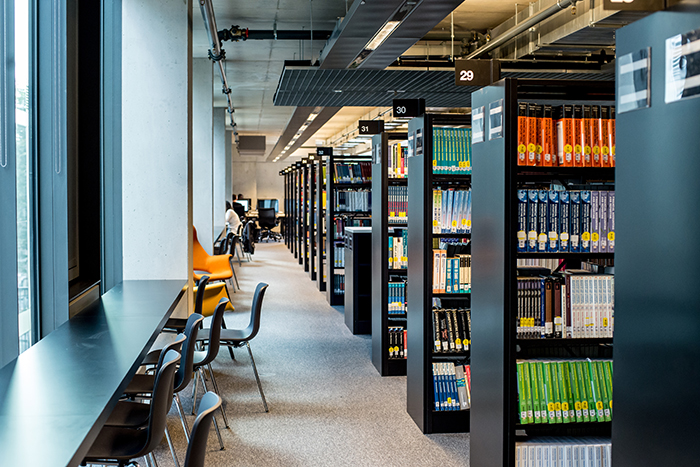 Get to know the Stockwell Street Library; orientation, facilities and specialist support