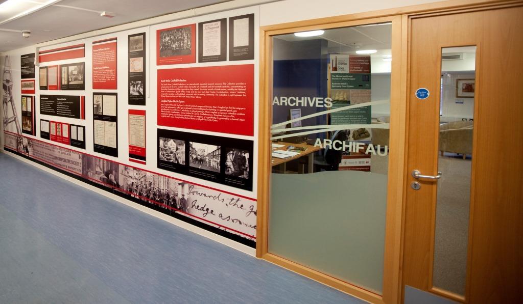 Accessing Research Information from Archives/ Cael mynediad at wybodaeth ymchwil o'r Archifau