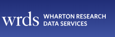 WRDS (Wharton Research Data Services) - online training