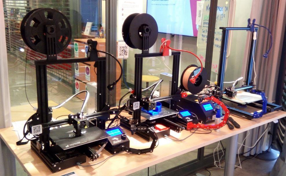 Introduktion till 3D-skrivarna på Ångström Makerspace / Introduction to 3D printing at Ångström Makerspace