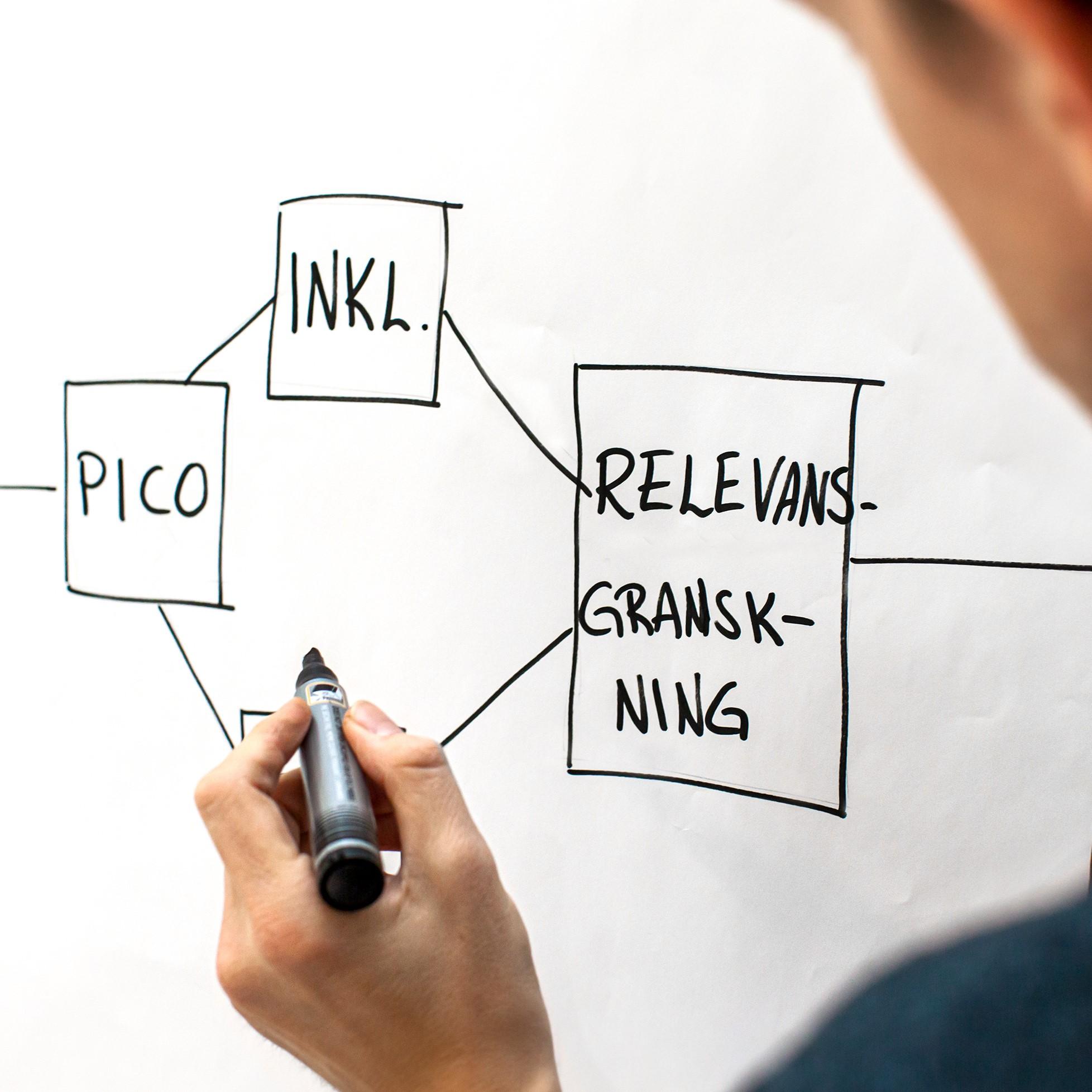 Lär dig söka systematiskt och skapa sökstrategier / How to search systematically and design search strategies