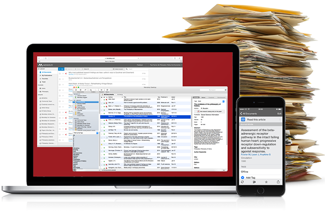 Using Mendeley for Reference Management