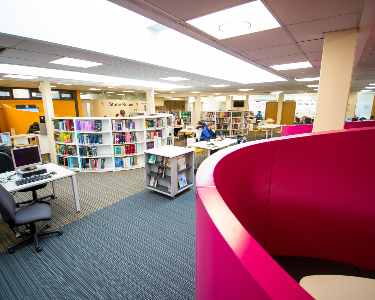 Merchiston Library Tour