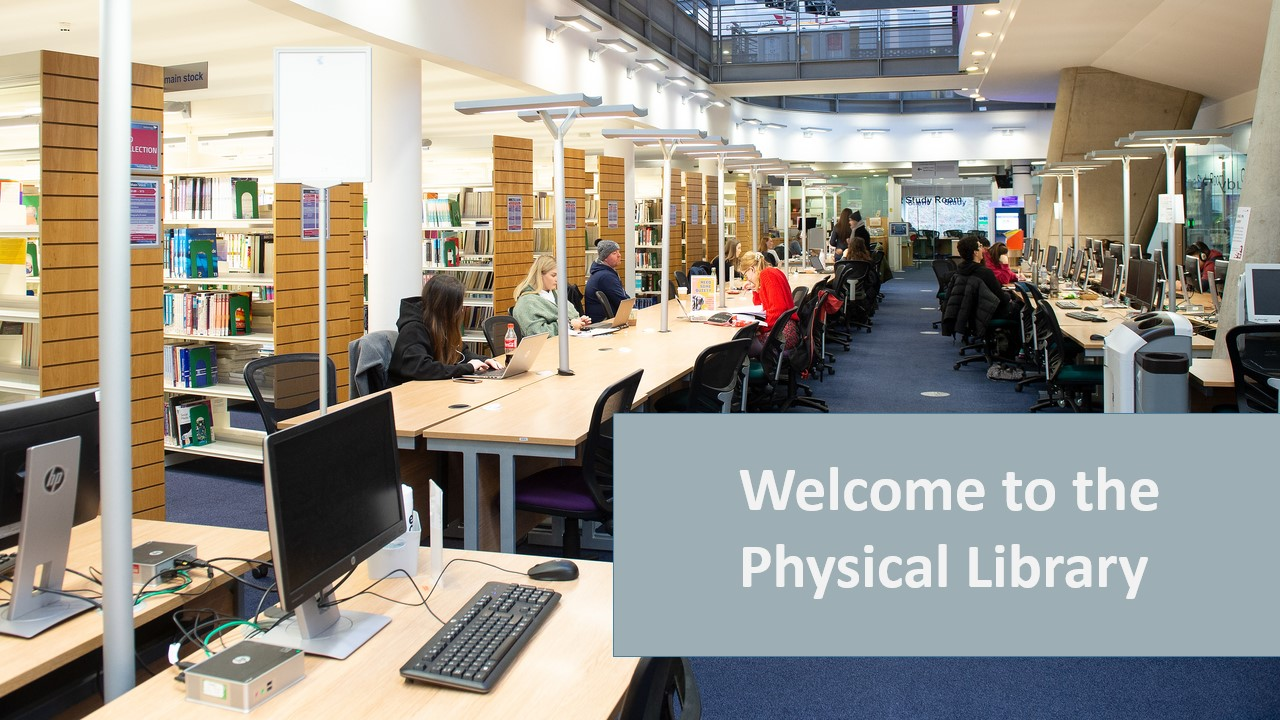 Welcome to the Physical Library