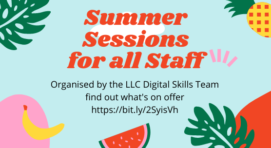 LLC Digital Skills Getting to know your Resource List session