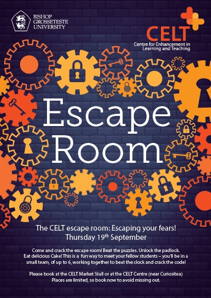 CELT Escape room – Team 7