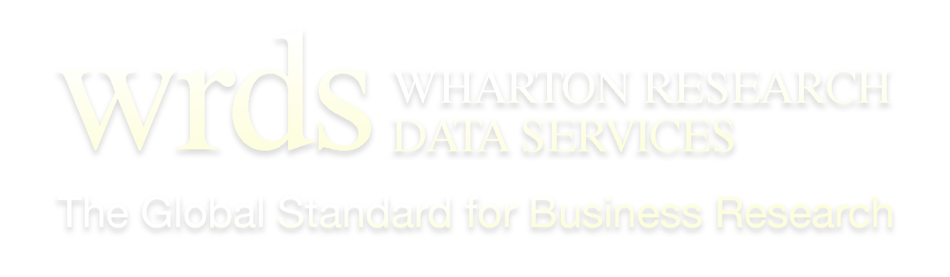 Warton Research Data Services