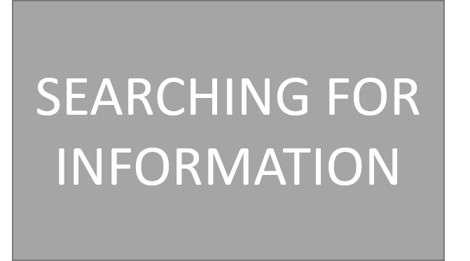 GSE: Searching for Information