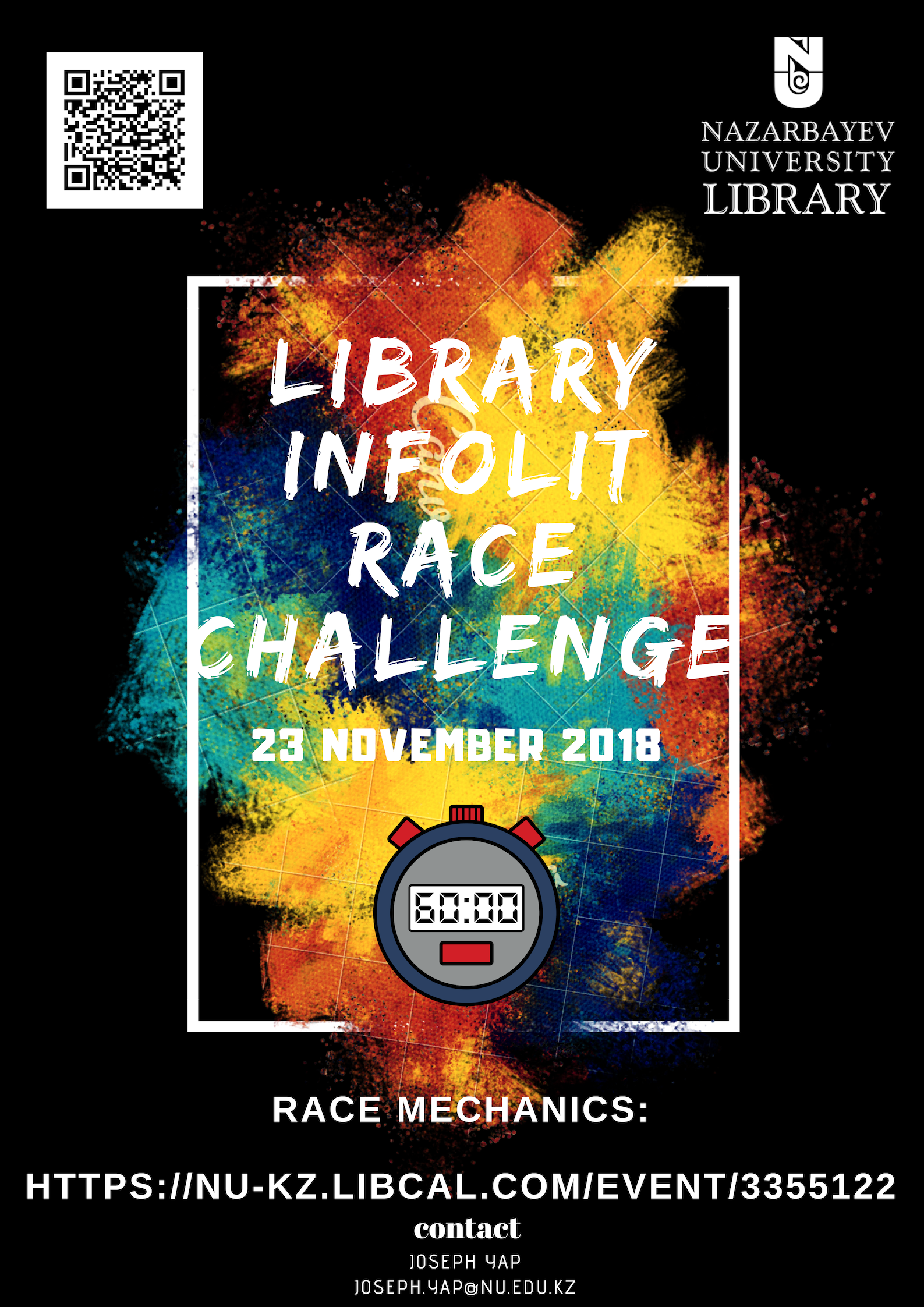 Library InfoLit Race Challenge