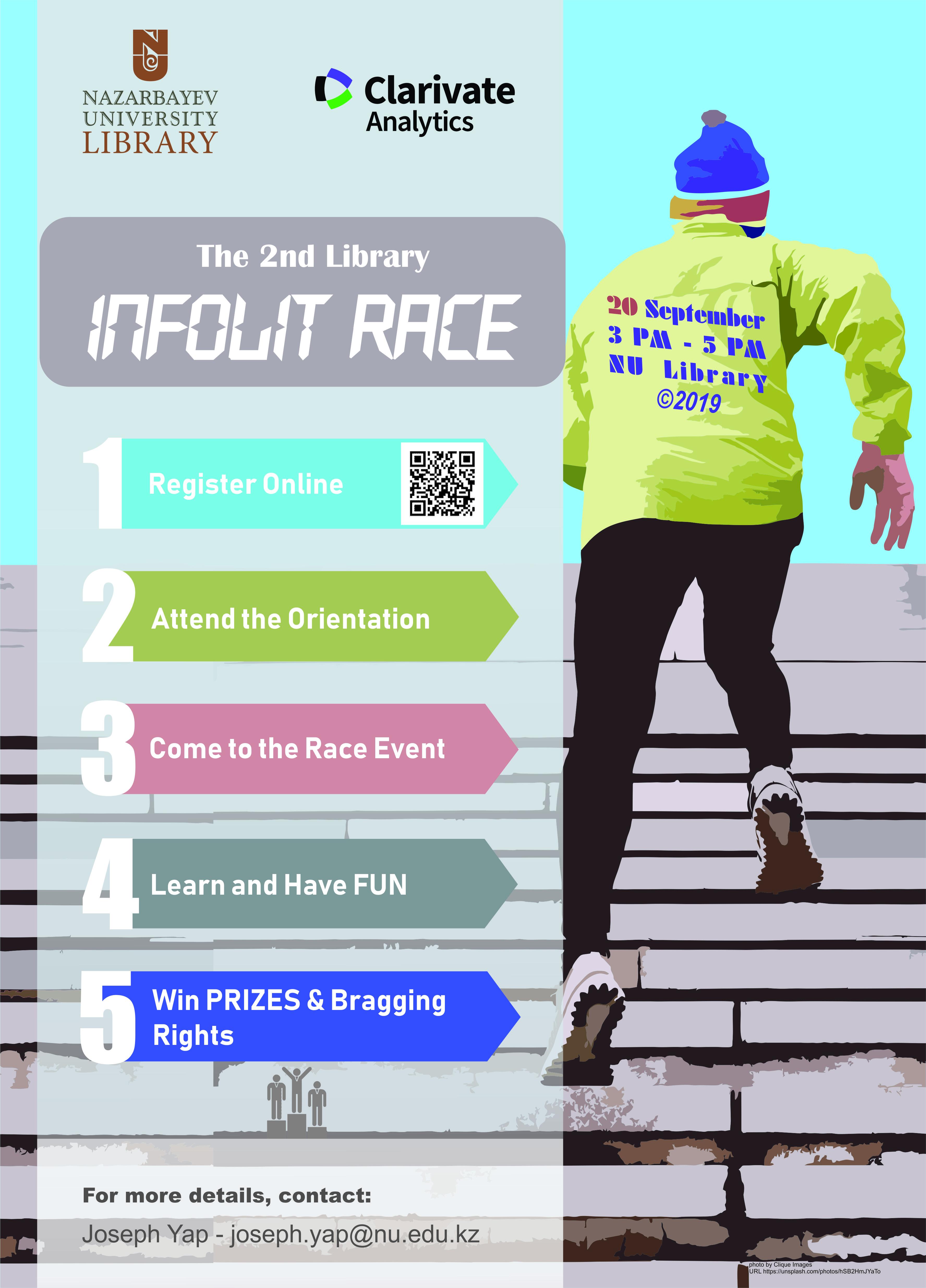 2nd Library InfoLit Race