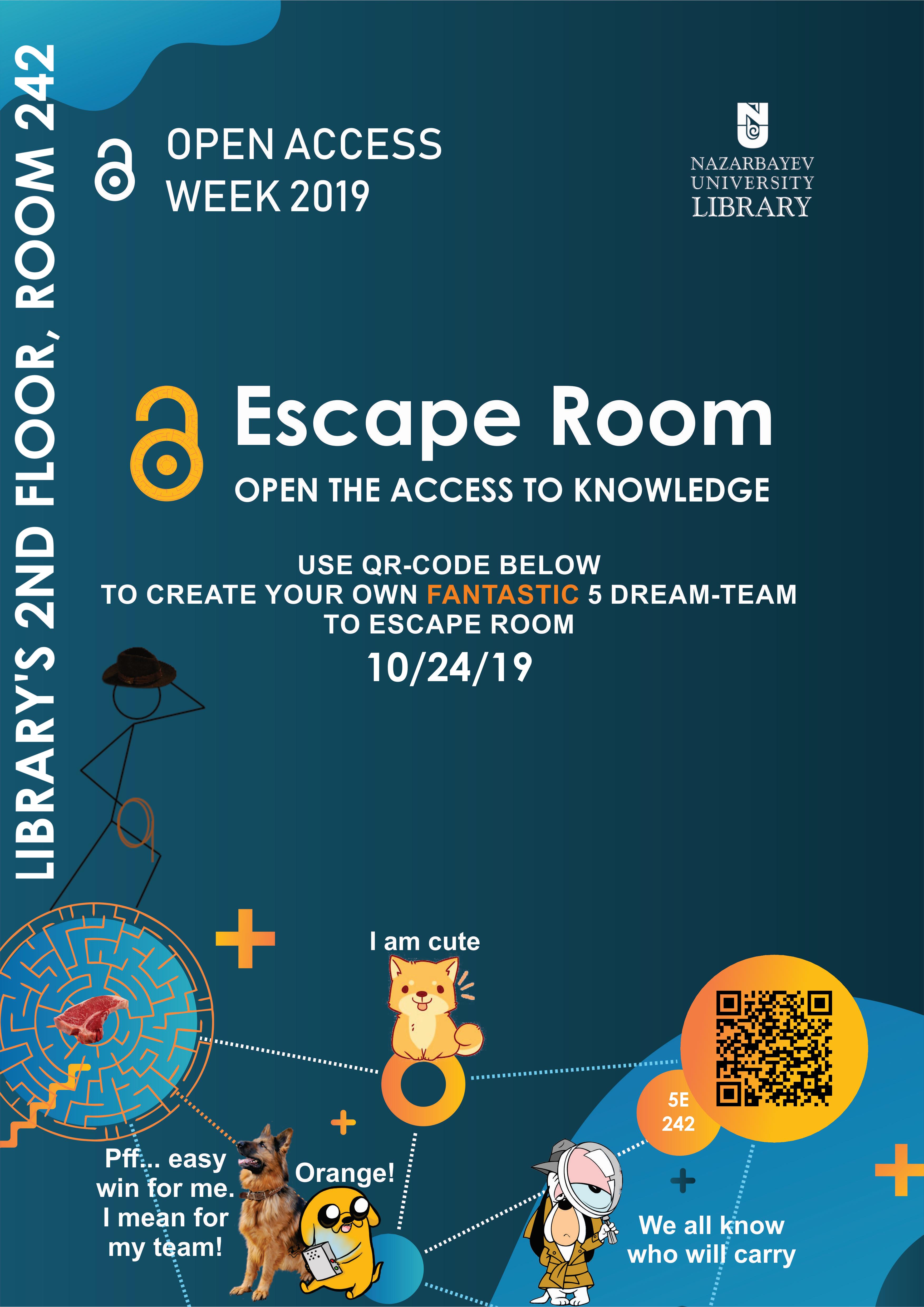 Open Access Escape Room