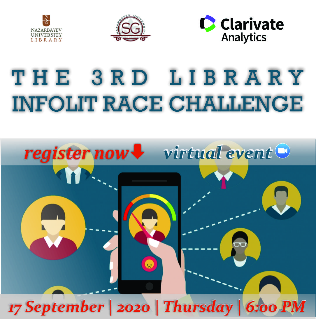 3rd Library InfoLit Race Challenge (Virtual)