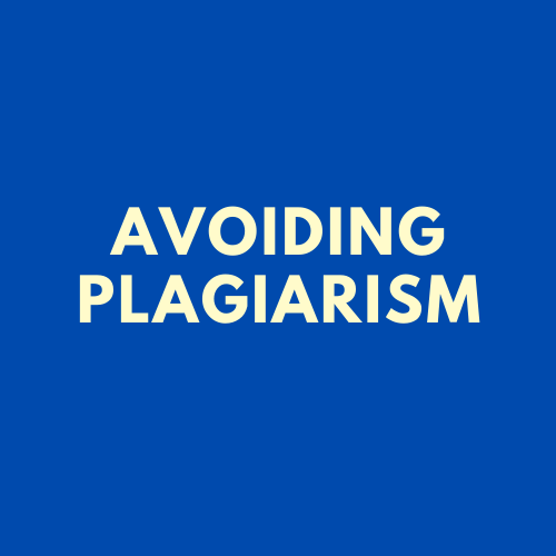 [SSH] Information Literacy: Avoiding Plagiarism