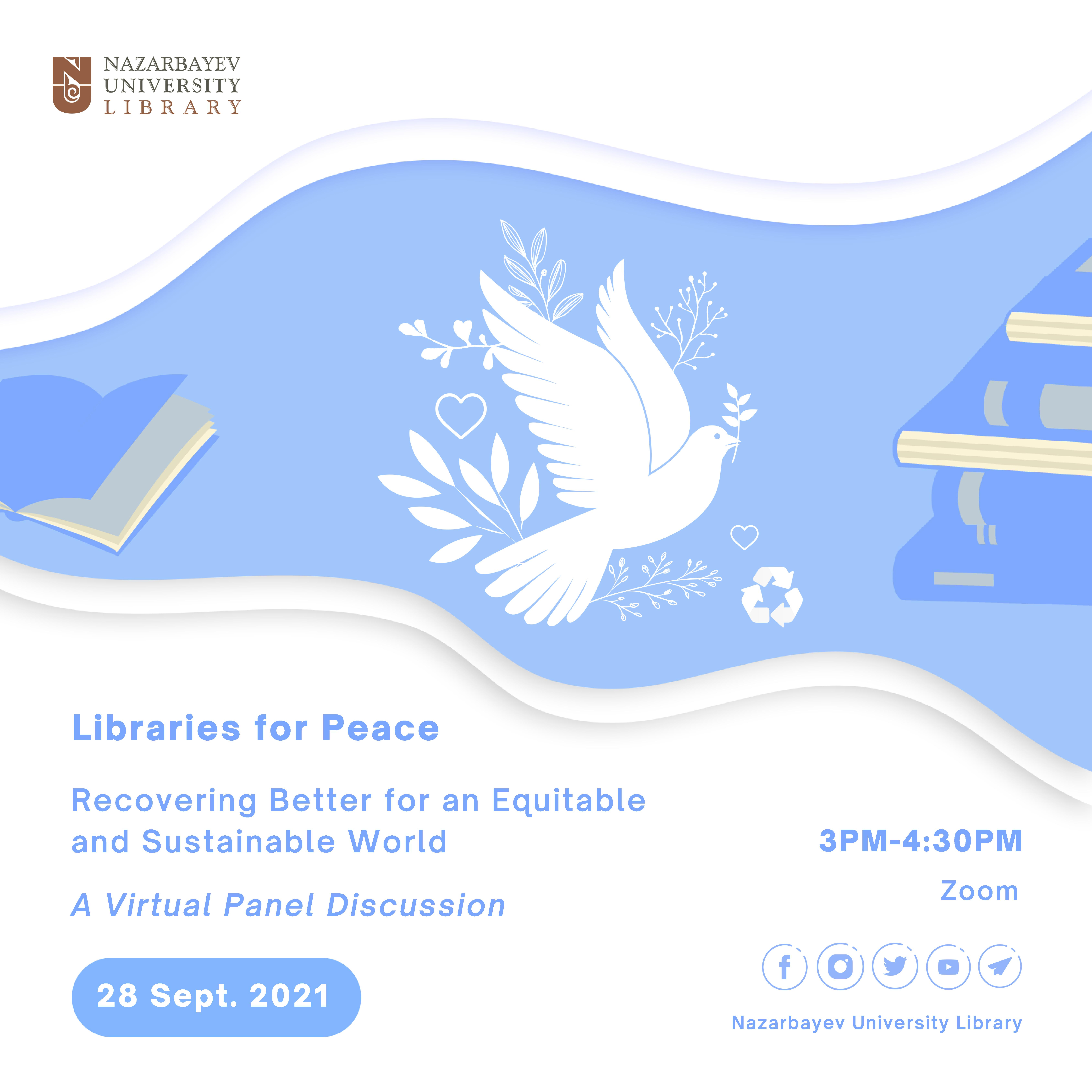 Libraries for Peace Day 2021