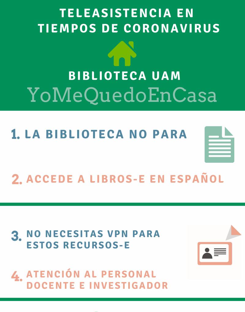 Biblioteca Ciencias. AMíElVirusNoMePara: Atendemos tus consultas