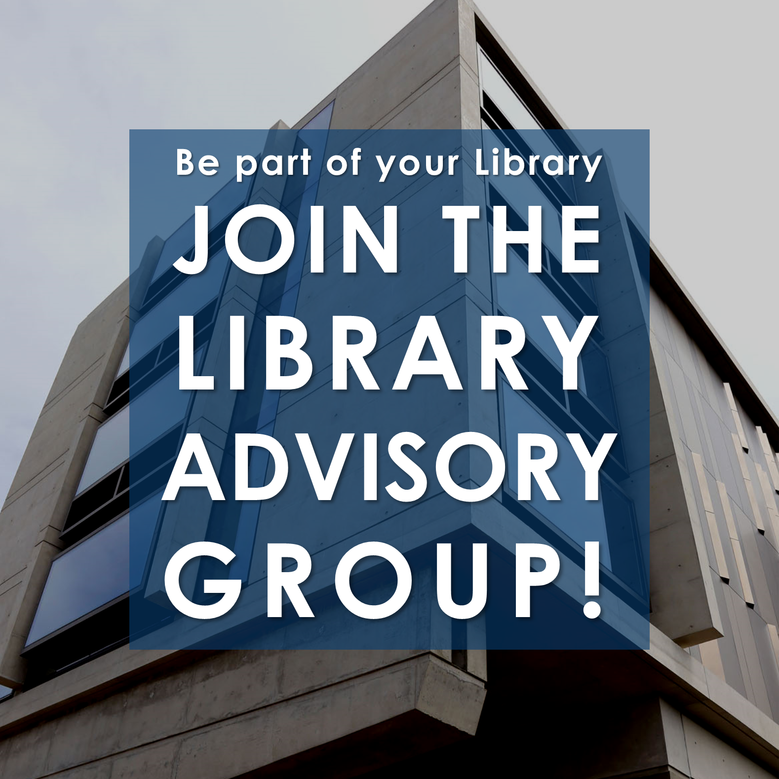 Library Advisory Group: Exploring the Library of the Future