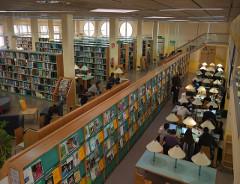 Acollida als nous estudiants de l'ETSEA: Presentació de la Biblioteca