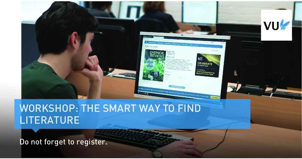 the Smart way to find literature - online course