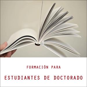 Sesión de formación para estudiantes de Doctorado