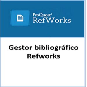 Gestor bibliográfico RefWorks