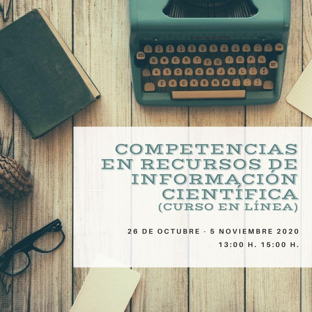 Competencias en Recursos de Información Científica (en línea)