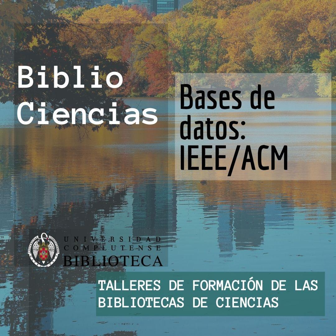 Bases de datos para informáticos: IEEE/ACM